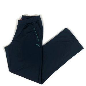 Boys Dark Blue Puma Pants Youth XL